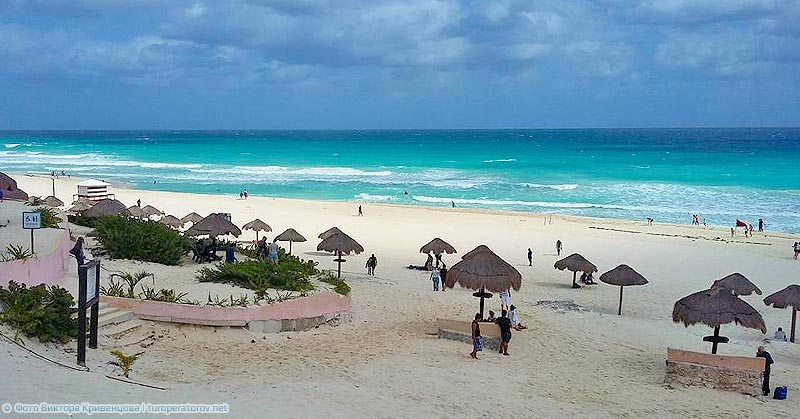 mexico cancun beach